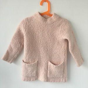 Crewcuts blush pink cozy Alpaca blend sweater